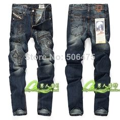 2014 New Arrivals autumn men's jeans / fashion brand jeans / casual denim skinny straight jeans / Disel jeans / free shipping $46.50