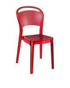 Officine Fiam stoel Set van 2 Beige rood