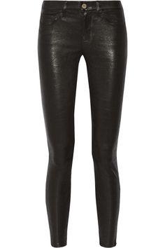 Frame Denim – Le Skinny stretch-leather pants