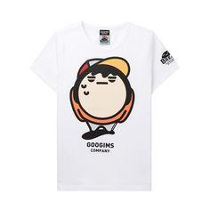 구김스 065 캐릭터 반팔 티셔츠 (G11MMRT403_01)