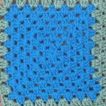 Simple Weaving Elevates Crochet Granny Square (DIY): Crochet a Granny Square