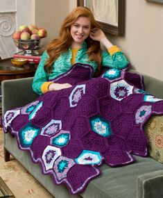 Crochet projects that have unique ideas such as the Splendor Crochet Throw where the pattern appears to be irregular or for a specific use are fun to explore.