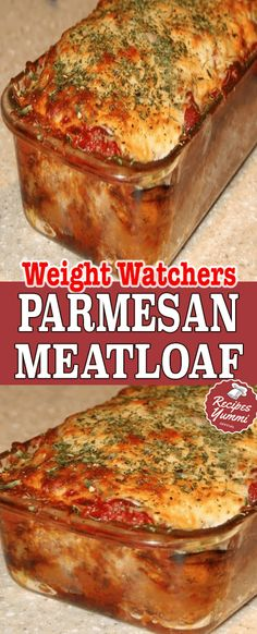 This meatloaf takes on Italian flavor with the addition of Parmesan cheese and an Italian herb blend. Serve this flavorful meat loaf with mashed potatoes and corn or green beans for a fabulous everyday meal. The meatloaf is made Skinny Recipes, Meat Recipes, Dinner Recipes, Cooking Recipes, Healthy Recipes, Hamburger Recipes, Recipies, Slimming Recipes, Snacks Recipes