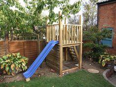 Green oak kids climbing frame home made | Flickr - Photo Sharing!