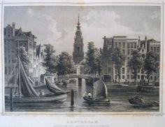 Amsterdam Amstel Zuiderkerk 1858