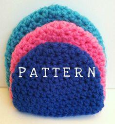 Preemie Cap free crochet pattern - 48trc Crochet Baby ...