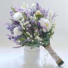 Purple Wedding Flowers Wildflower Bridal Bouquet - Rustic Bouquet, Lavender Wildflower Bouquet, Shabby Chic Bouquet, Bridal Bouquet, Boho Bouquet by blueorchidcreations on Etsy - Wildflower Bridal Bouquets, Purple Wedding Bouquets, Bridal Flowers, Lavender Bouquet, Lilac Wedding, Bridesmaid Bouquets, Flower Bouquets, Bridesmaids, Hydrangea Bouquet