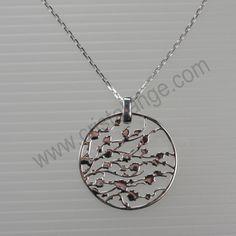 Collier argent Japonisant - bijoux mode en argent - bijouterie en ligne Cristalange