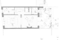 NP2F Architectes Josef Frank, Architecture Plan, Contemporary Architecture, Architectural Section, Architectural Drawings, Plan Drawing, Floor Plans, How To Plan, House