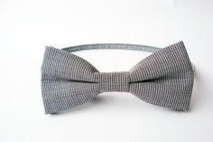 Classic houndstooth bow tie for men by Bartek by BartekDesign, €21.50