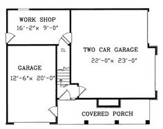 Garage with a Fabulous Guest Apartment Above - 3849JA   1st Floor Master Suite, CAD Available, Carriage, PDF, Photo Gallery   Architectural Designs