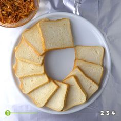 The new trend for parties. 4 simple recipes with bread. Mexican Food Recipes, Sweet Recipes, Appetizer Sandwiches, Snacks Für Party, Creative Food, Food Videos, Love Food, Tapas, Food Porn