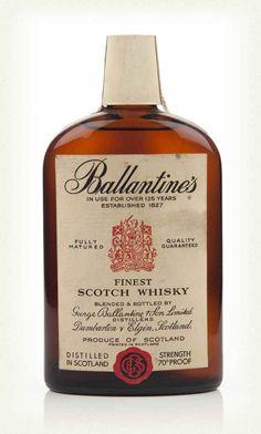 Ballantine's Finest - 1960s