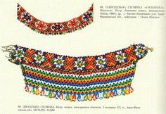 Ukrainian beads from around mid XX century. From here https://www.facebook.com/localhistoryukraine