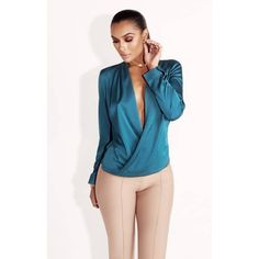 Introducing our JLUX BASIX collection,  made exclusively by us. Feel like a girl boss in these sophisticated blouses. Perfect for the office with a sexy touch. 4 pretty colors for every occasion. Smooth and soft.    95% Polyester 5% Spandex Model wearing size S Imported