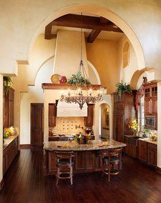 Spanish Kitchen Design,