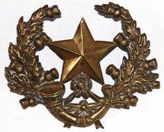 WW1 CAMERONIANS BRASS ECONOMY CAP BADGE