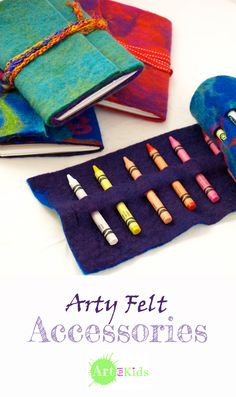 Arty Accessories with Hand-made Felt