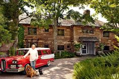 See how Martha Stewart does rural living at her breathtaking home overlooking Maine's scenic Seal Harbor