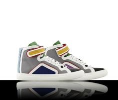PIERRE HARDY: These aptly named 'Colorama' ultra limited edition sneakers will turn heads for all the right reasons. Only 160 pairs are available! All The Right Reasons, Pierre Hardy, Your Shoes, Kicks, Pairs, Sneakers, Collection, Women, Tennis Sneakers