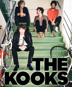 The Kooks are a favourite band of mine! The Kooks Lyrics, Band Posters, Music Posters, Retro Posters, Sully, Rock Music, My Music, Band Pictures, Band Photos