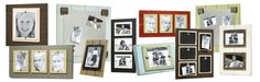 MatchStix rustic and distressed picture frames and organizer boards for your home!