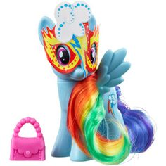 My Little Pony Rainbow Dash Figure. $5.00.  any of the little pony 5 buck figures from wal mart