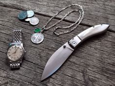 1960s Omega••Seamaster + Coins + Silver••Gemstone Necklace + Shi Lin••Cutter