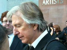 Alan & Rima — June 19, 2015 - Alan Rickman and Rima Horton at...