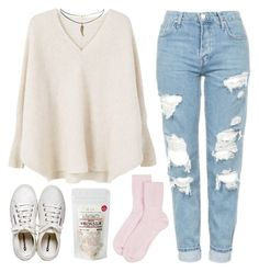 """""""Rainy"""" by soym ❤ liked on Polyvore featuring Topshop, Johnstons of Elgin, MANGO, Henri Bendel and ASOS"""