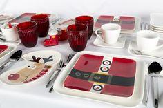 Dale un toque de creatividad a tu mesa  con estos alegres platos que recuerdan las tradiciones navideñas.