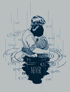 "T-shirt design for the independent movie ""Never"" by Brett Allen Smith"