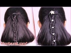 Chinese fan hairstyle Visit for hair care product:- http://khoobsurati.com/haircare Visit for tutorial:- https://www.youtube.com/watch?v=x2W0PLleBUE