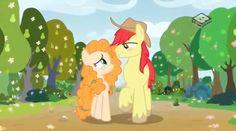 MLP: Pear Butter and Bright Mac by Queenofnightwish.deviantart.com on @DeviantArt