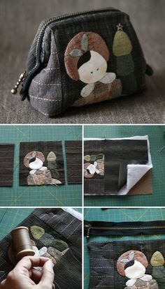 How to Sew a Purse on Your Own – a free tutorial on the topic: Fabric bags ✓DIY ✓Steps-By-Step ✓With photos Sewing Hacks, Sewing Crafts, Sewing Projects, Sewing Tips, Bag Pattern Free, Sewing Patterns Free, Patchwork Bags, Quilted Bag, Love Sewing
