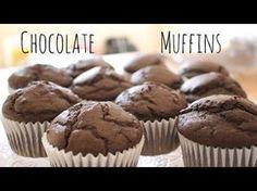 Chocolate Muffins Recipe   sweetco0kiepie - YouTube