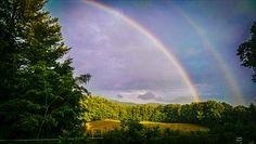 Doppelzimmer, Regenbogen, Himmel, Natur