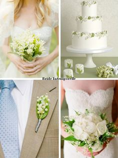 Inspiration Muguet / Lily of the valley bouquet