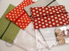 Transparent zip bag DIY :: Bolsa transparente TUTORIAL
