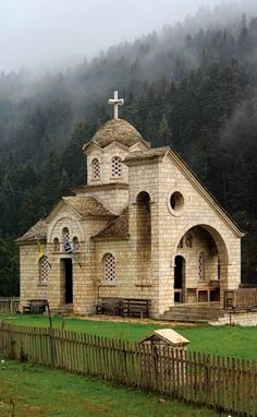 Church.. Pertouli, Thessaly, Greece (by Hercules Milas)