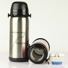 Autohome 27 OZ Stainless Steel Insulated Water Bottle Mug Portable Indoor Outdoors Equipment- Silver