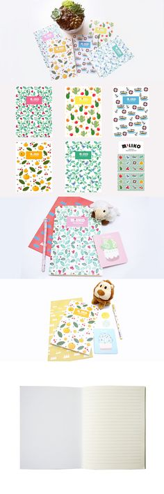 Now is on sale!!Miliko new series notebooks, 5 lovely notebooks per pack, cute stickers included. $14.99  http://amzn.to/1VCg61j