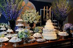 decoracao casamento classico ; bolo casamento