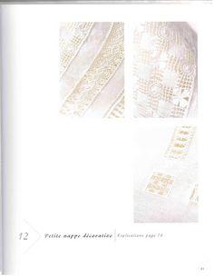 Lene Richelieu e Bainha Aberta: Amostra de bordados Branco de Crivo e Barafundas e bainha abertas encontrado na net