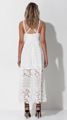 Mossman The Spanish Fling White Lace Dress