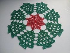 Carpeta Navideña a crochet - YouTube