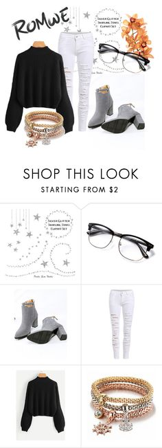 """""""ROMWE CONTEST"""" by eldinaaa ❤ liked on Polyvore"""
