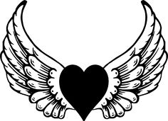 Heart With Wings Clipart - ClipArt Best - ClipArt Best