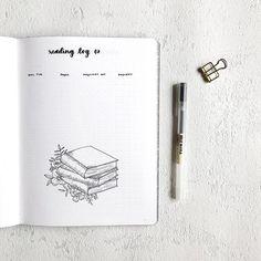 Reading log | Bullet Journal