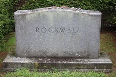 Grave Marker- Norman Rockwell